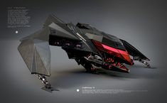 M.A.G.M Spacefighter Lightning II by maurice baltissen | Robotic/Cyborg | 3D | CGSociety