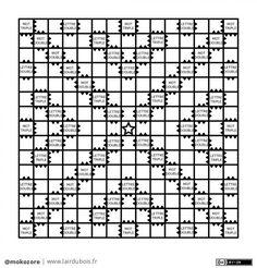 Scrabble board game template