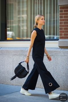 New York Fashion Week SS 2016 Street Style: Pernille Teisbaek