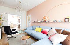 Retromantisch retro blog - Interior inspiration nude copper chandelier kroonluchter interieur koper romantisch vt wonen lamp