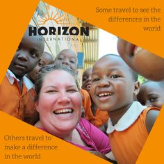 Some travel to see the differences in the world. Others travel to make a difference in the world. #GOSENDSPONSOR