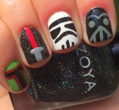 Nails by an OPI Addict: Star Wars Nails