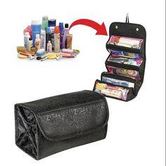 2017 de Las Mujeres A Prueba de agua Caja de Cosméticos Bolsa de Maquillaje de la Señora kit de Viaje Bolsa de artículos de Tocador organizador de La Joyería de Calidad Superior FreeShipping P205