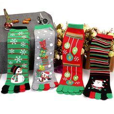 Ladies Xmas Christmas Novelty Socks Mistletoe penguin santa Size 4-7 UK  New