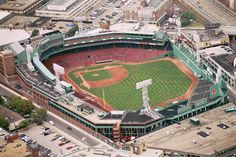 Fenway Park | meets the green of fenway park
