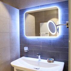 120 beste afbeeldingen van luxe badkamers for Badkamerverlichting spiegel