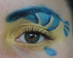 Flounder makeup -