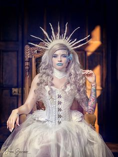 b178321451f Powdered and Waisted · Ice Queen   Photography by John Gardner