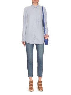 2fcc36573f ACNE STUDIOS Addle point-collar denim shirt Tall Women