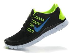 save off 28868 e2a2e Nike Free 5.0+ Anthracite Hyper blue Lime Green Volt Cheap Running Shoes, Nike  Shoes