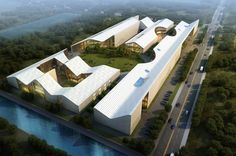Arts Production & Innovation Centre in #Mianzhu, #China by Urbanlogic Ltd. #WANAWARDS #Future Projects #Commercial