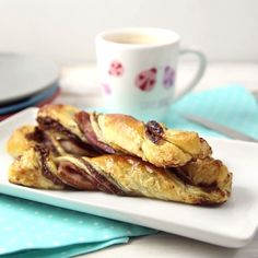 Put a sweet twist on Breakfast with some Nutella Stuffed Bacon Twists!