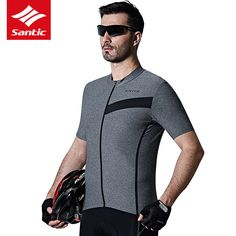 2017 Santic Men Bike Jerseys MTB Mountian Road Downhill Racing Clothes Outdoor Sportswear Anti-sweat Breathable Ropa Ciclismo *** View the item in details on AliExpress website by clicking the VISIT button