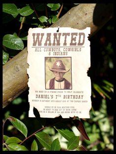 Wanted Wild West $10,000 Reward Selfie Frame Photo Booth Prop Poster