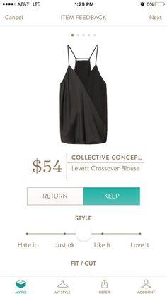 Stitch Fix Collective Concepts Levett Crossover Blouse #StitchFix #CollectiveConcepts https://www.stitchfix.com/referral/3347556