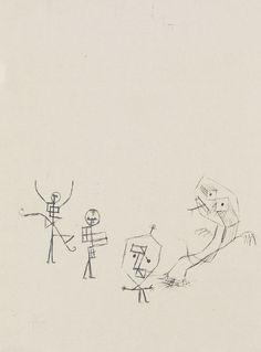 Paul Klee - Maskenspiel 1929