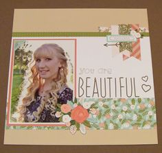 Amy's Art from the Heart: Hello Lovely Layout