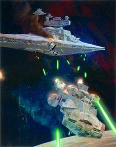 Alderaan cruiser: Diplomatic vessel