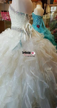 Wholesale 2017 Sweet 15 Dress Ivory Quinceanera dress