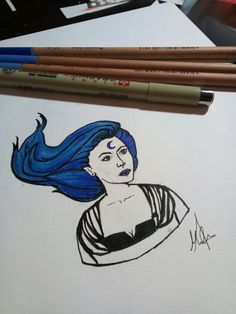 Elf sketch #sketch #drawing #magic #fantasy #elf