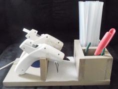 DIY glue gun holder                                                       …