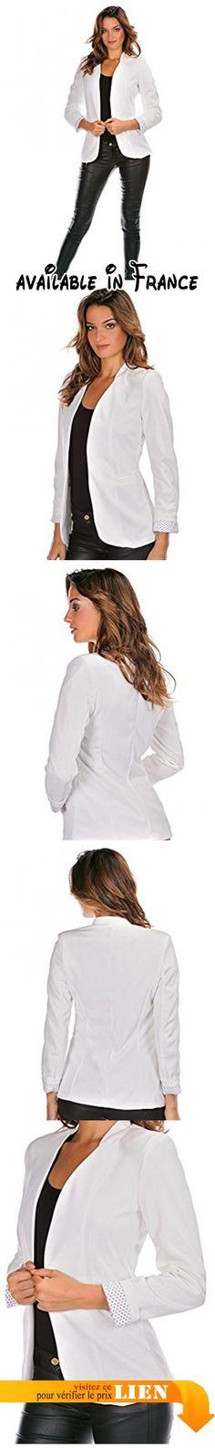 B0732XJS41 : Doucel - Veste ROMANTIK Ref. ERIN Couleur - beige Taille Femme - 40.