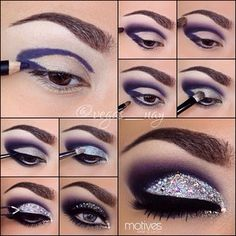 .@vegas_nay   Here's the step by step pictorial I promised from the New Years Eve look ....   Webstagram - the best Instagram viewer