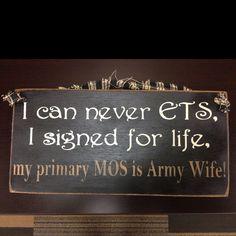 ARMY WIFE!