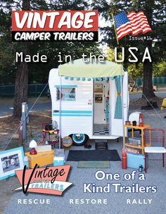 Back Issues - Vintage Camper Trailers Magazine