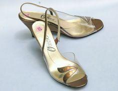 VIntage 70s Lucite Clear Shoe Onex Shoe by PelhamRoadVintage, $27.00