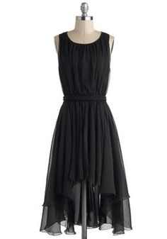 Dance Hall Night Long Dress. Youve been telling everyone you know about your outfit for the dance tonight and, when you show up in this black dress, youre sure to beat all expectations! #black #prom #modcloth