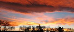 Wyoming sunset photo by Cylas Christner