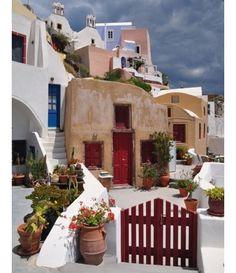 #Οία #Σαντορίνη #Κυκλάδες #Ελλάδα #Santorini #Island #Cyclades #Oia #Greece #clouds #rainy #day #greek #beauty #greek_islands #great #view