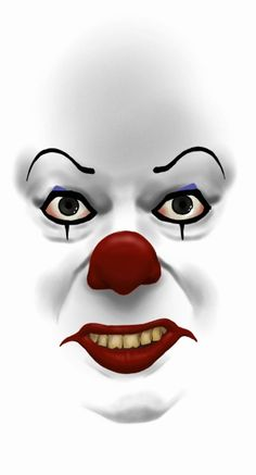 Pennywise! Wich means he's not a Penny worth, nor Wise... lolololololololololol 1 hour sketch, done with Painter...