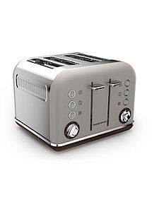 Consumers First Morphy Richards Special Edition Accents Bread Bin Stainless.. Roll Top Design