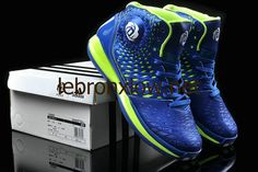 adidas Rose 3.5 Spider Man Game Royal Blue lime Green for sale Adidas Basketball shoes 2013