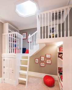Such a cute space designed just for little ones to enjoy!Credit to Atelier Noel. - Home Decor For Kids And Interior Design Ideas for Children, Toddler Room Ideas For Boys And Girls Play Spaces, Loft Spaces, Toddler Rooms, Kids Rooms, Lounge Areas, Kids House, Playroom, Interior Design, Furniture