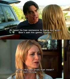 While I do love this quote, and miss The O.C. terribly I'm actually pinning this as a reminder to myself that I always wanted Kelly Rowan's first season hair.