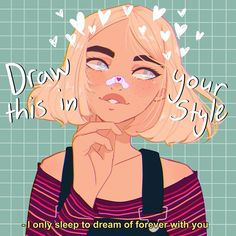 Pin by Magpie on Draw this in your style. in 2020 Art Challenge, Drawing Challenge, Cartoon Kunst, Cartoon Drawings, Cute Drawings, Male Character, Fantasy Character, Character Drawing, Cartoon Art Styles
