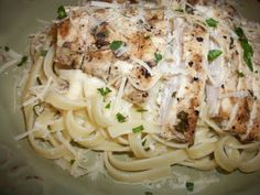 making this tomorrow Grilled Chicken Fettuccine Alfredo