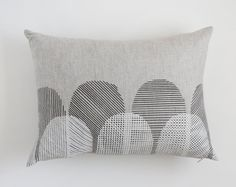 Rectangle Pillow Cover - Scallop