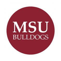 """Mississippi State University 1-1/2"""" Round Labels - Free Shipping. Use these semi-gloss circle labels to seal envelopes or as an eye catching touch to demonstration your school pride."""