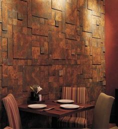 Because of its special weather resistance, Corten steel mainly in the outdoor area is used. Discover the many applications of Corten steel inside today and Metal Sheet Design, Rustic Wood Crafts, Cladding Materials, Exterior Cladding, Exterior Remodel, Fireplace Wall, Wood Texture, Textured Walls, Wood Wall Art
