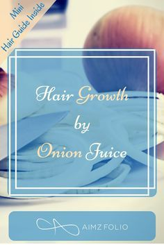 Onion is a very useful and effective hair growth ingredient with absolutely no side effects. check out these onion based remedies to grow your hair naturally. Click to read complete article