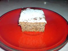 Macedonian Food, Cuisine and Recipes: Poppy Seed Cake
