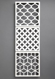 Geometric of the Eye Wall Tiles hang jewelry or earrings Handmade tiles can be colour coordinated and customized re. shape, texture, pattern, etc. by ceramic design studios