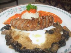 Seared Chicken Andouille Sausage with Toasted Curry & Leftover Marsala Sauce & Rice in Vodka Sauce #lowcarb