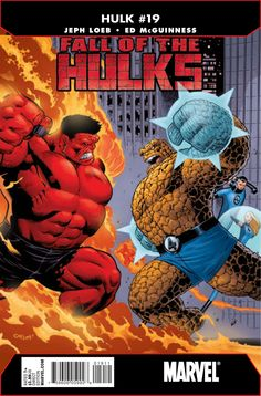 Red Hulk vs The Thing!