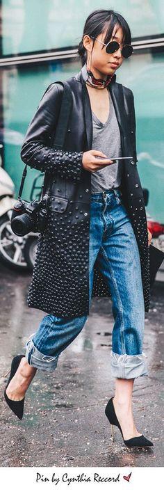 Street Style | MFW | SS 2017 | cynthia reccord