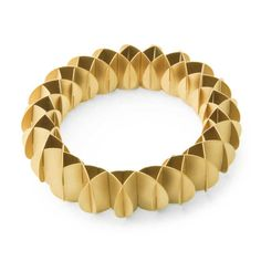 ORRO Contemporary Jewellery Glasgow - Niessing - Gold Phoenix Bracelet- Modern Gold Bracelets by Niessing at ORRO Jewellery Glasgow Scotland UK